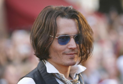 Johnny at Pirates of the Caribbean At Worlds End Premier