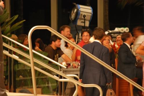 Shooting in lobby