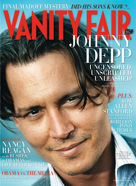 Cover of Vanity Fair for July.. Not bad aye?