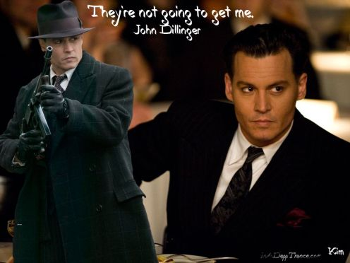 Another Wallpaper of Johnny Depp as Dillinger